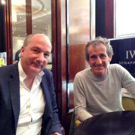 DM et Alain Prost-26.05.2015