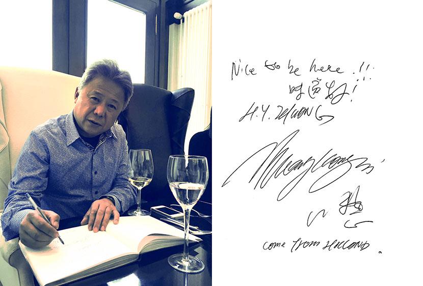 Zhuang Hong Yi et dédicace